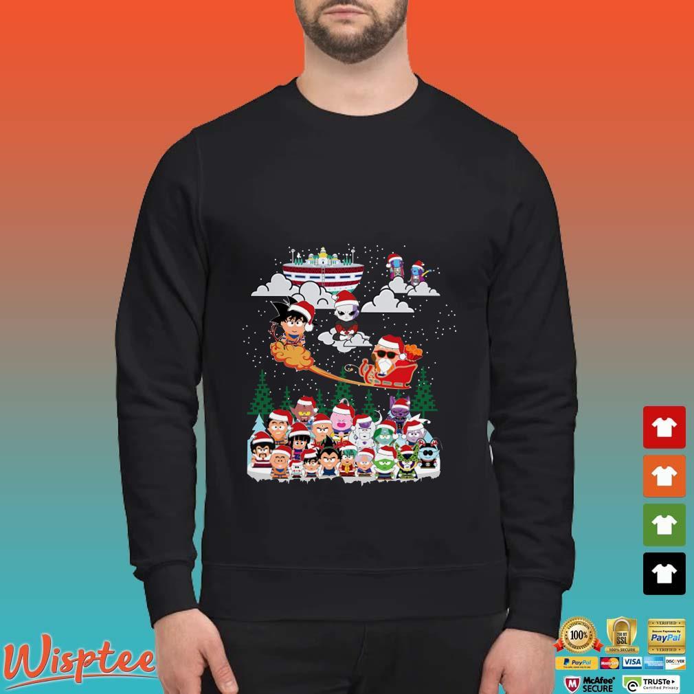 Christmas Shirt.Dragon Ball Chibi Christmas Shirt Shirt