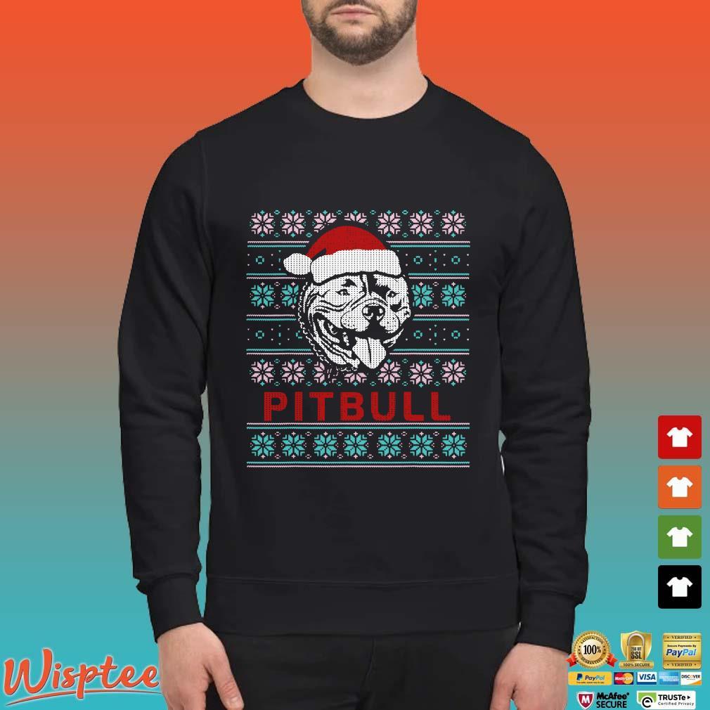 Pitbull Dog Ugly Christmas shirt