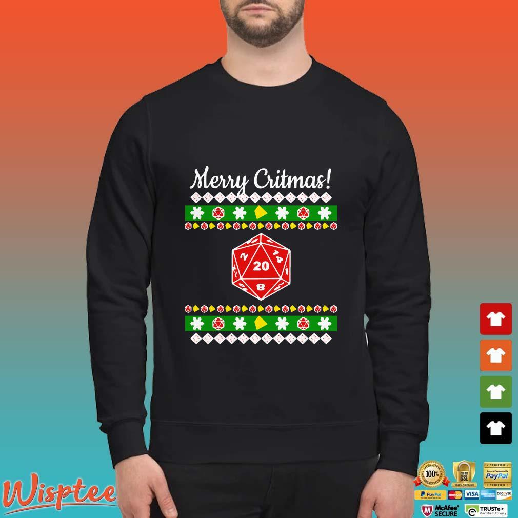 Merry Critmas Christmas Ugly Shirt