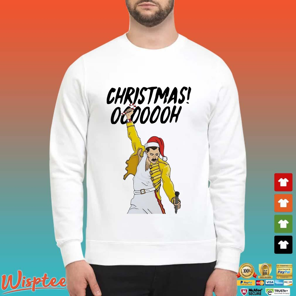Freddie Mercury Christmas Ooooooh Shirt