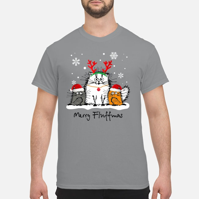 Merry Fluffmas Christmas Shirt