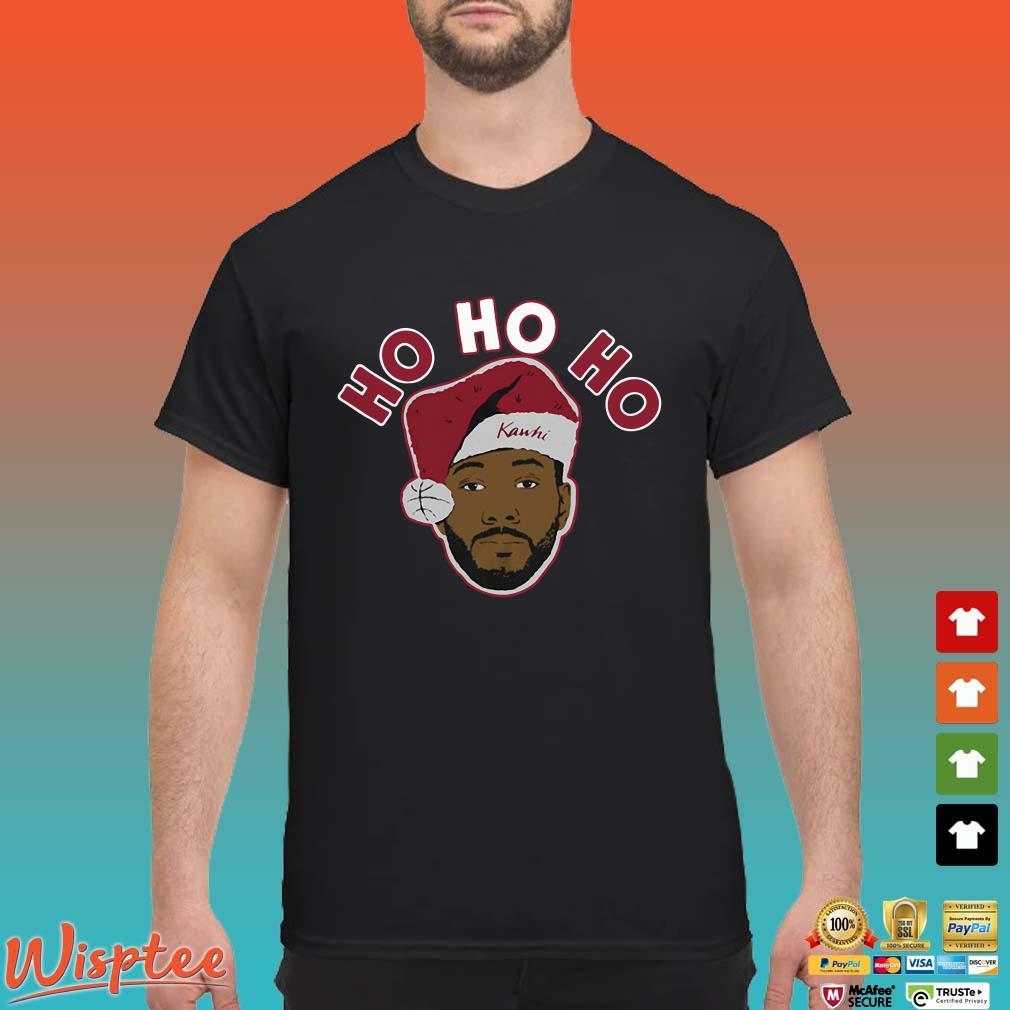 Kawhi Leonard Ho Ho Ho Shirt