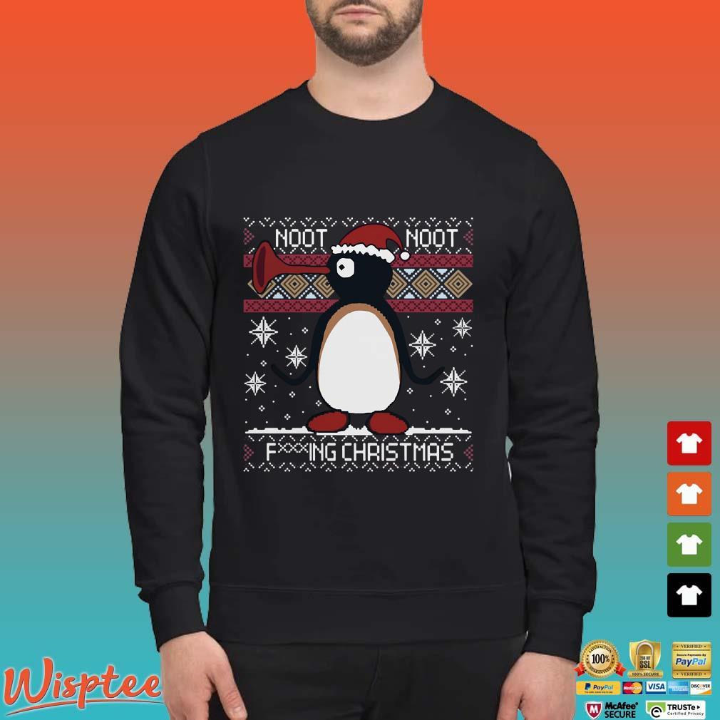 Pingu Noot Noot Fucking Christmas Ugly Shirt