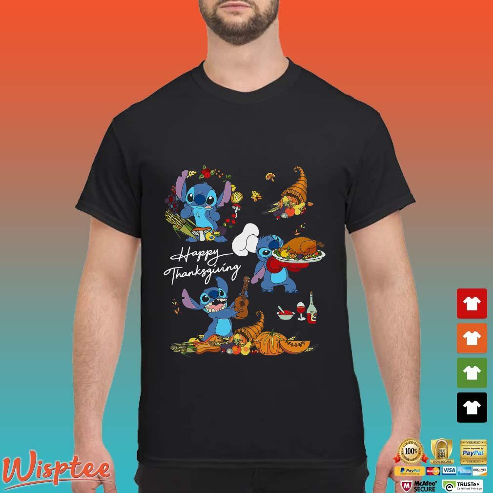 Stitch Happy Thanksgiving Shirt