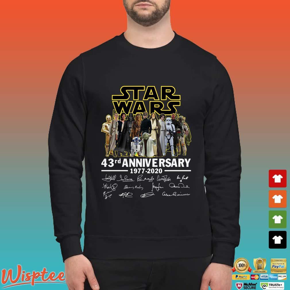 Star Wars 43rd anniversary signatures Shirt