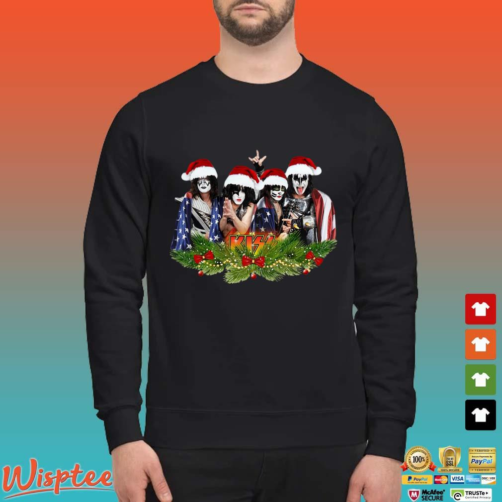 Kiss Band Santa Christmas Shirt