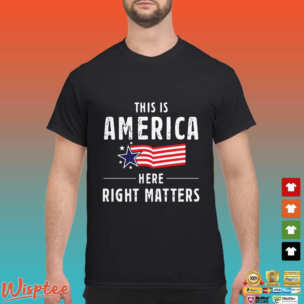 This is America Here Right Matters Alexander Vindman Shirt