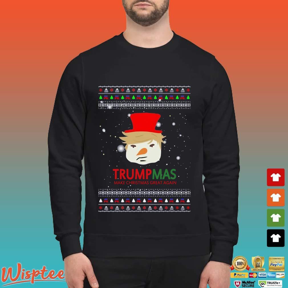 Trumpmas Make Christmas Great Again Ugly Christmas Shirt