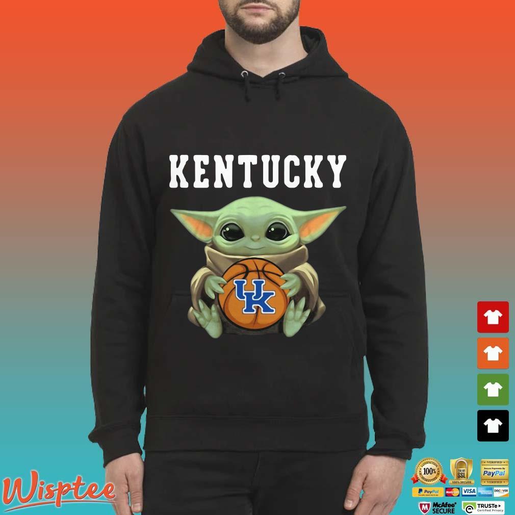 Baby Yoda hug Kentucky Wildcats Shirt