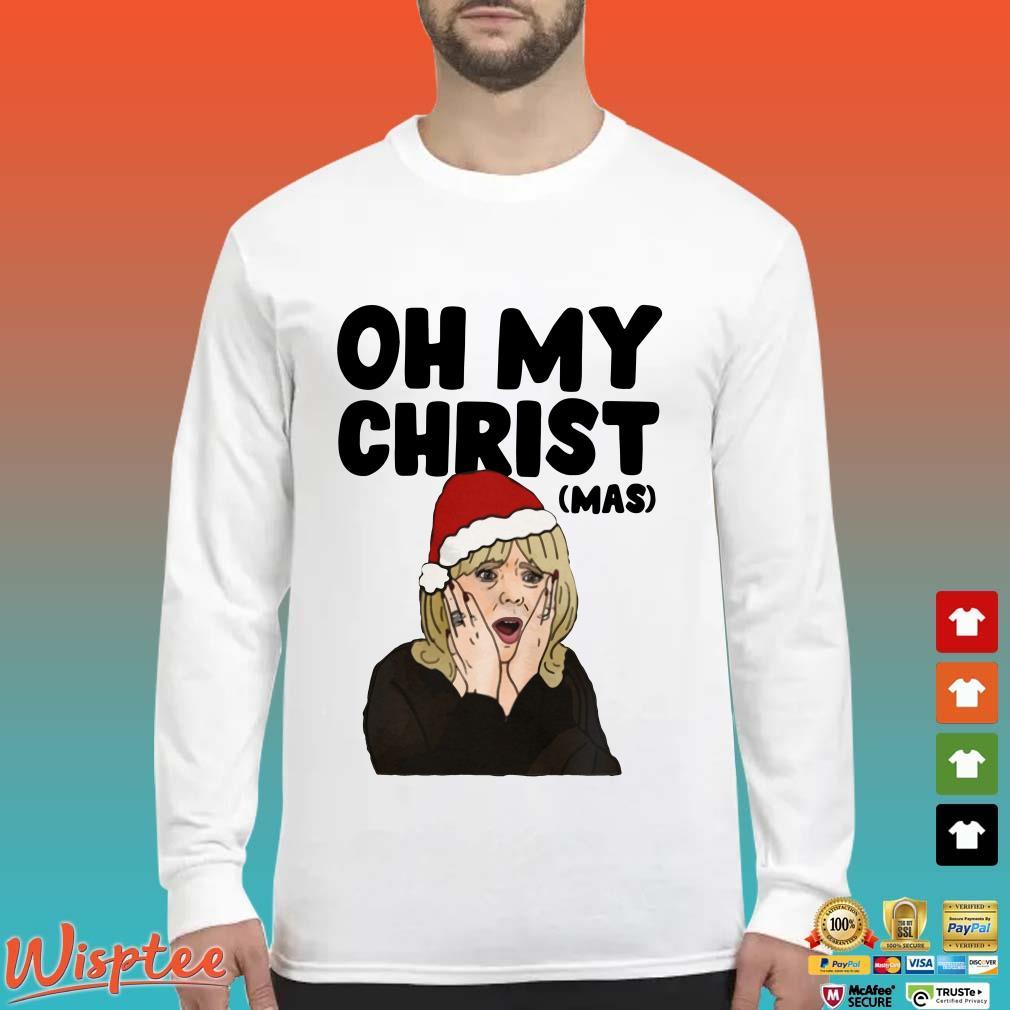 Santa Stacey Shipman Oh My Christ (mas) Shirt