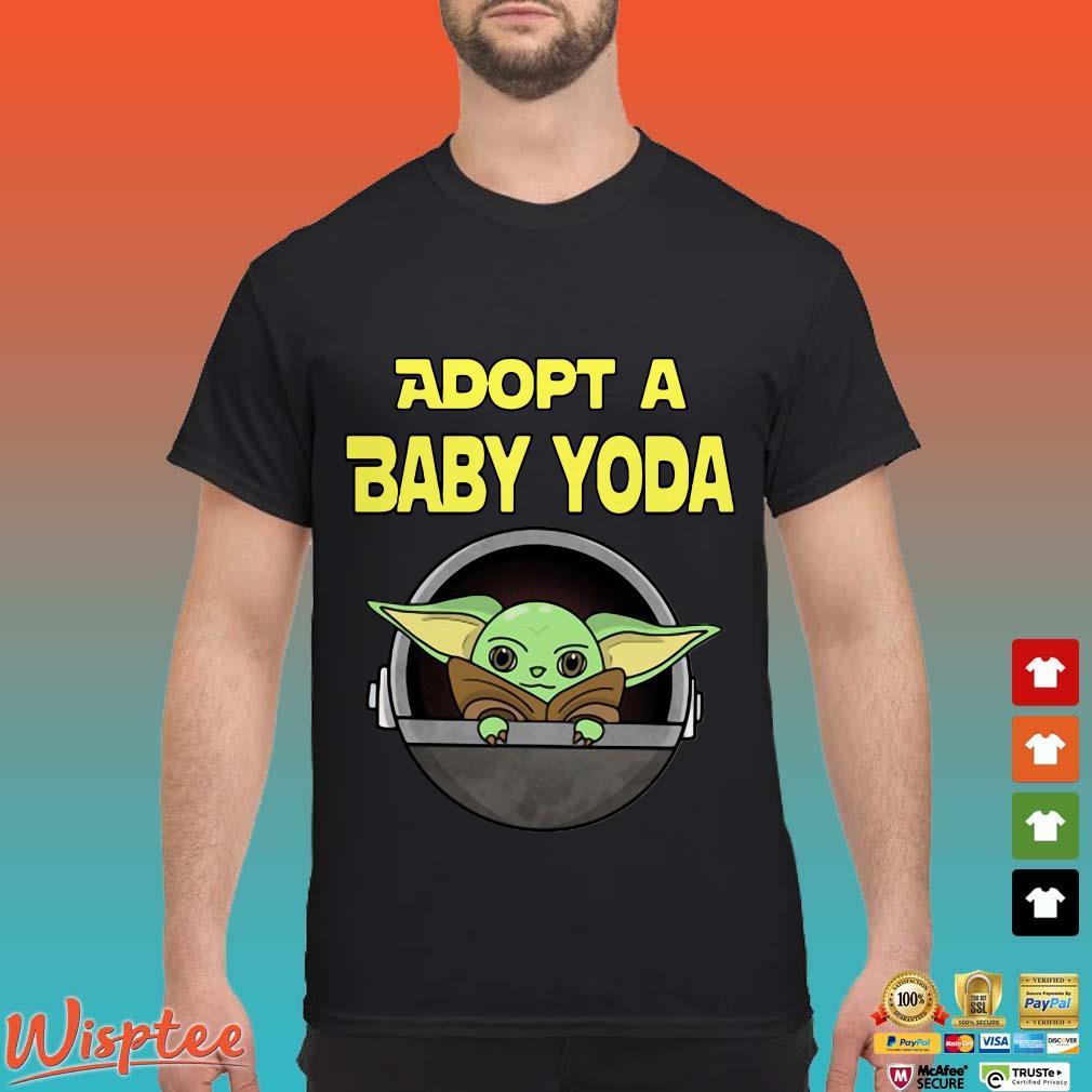 ADOPT A BABY YODA Shirt
