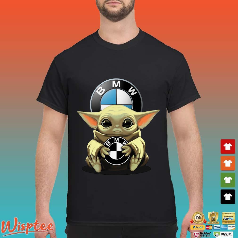 Star Wars Baby Yoda Hug BMW Shirt