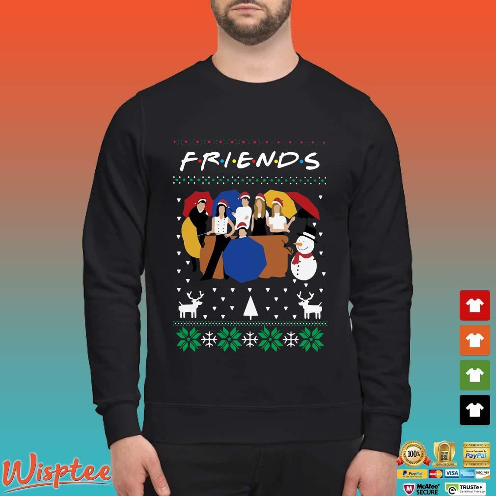 Friends Tv Show Santa Ugly Christmas Shirt
