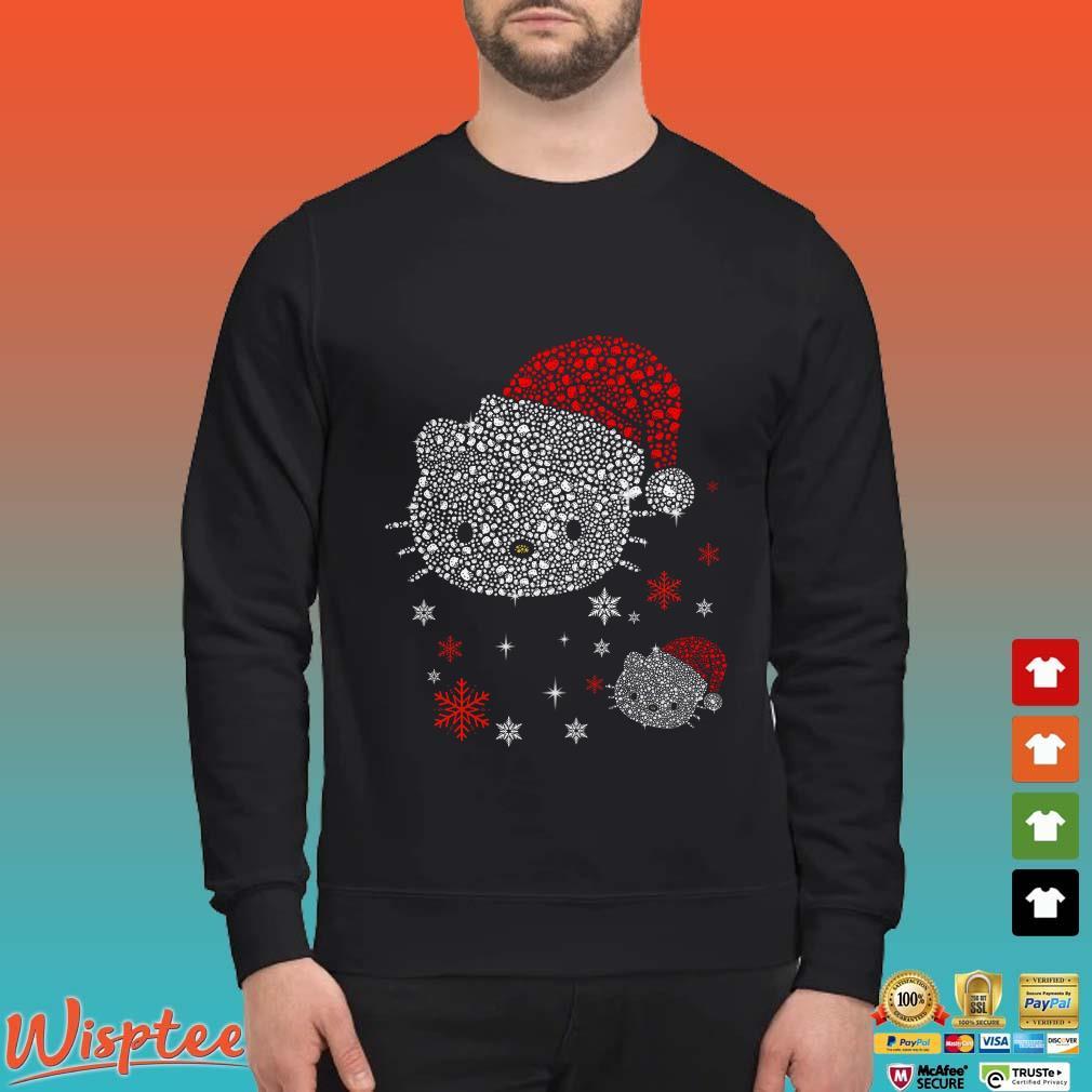 Santa Hello Kitty Diamond Christmas Shirt