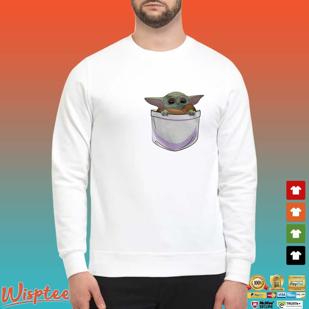 The Mandalorian Baby Yoda in pocket shirt