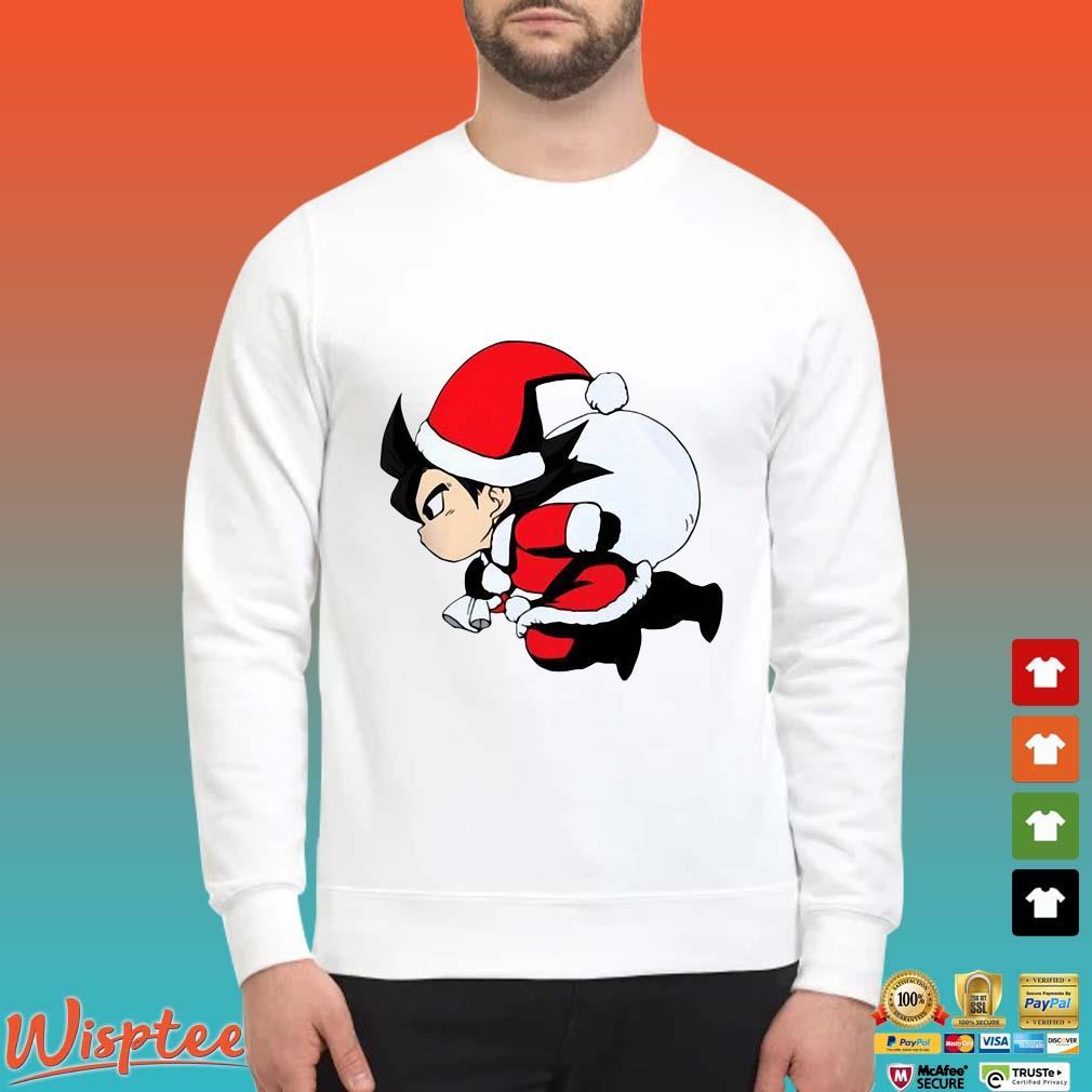 Santa Son Goku Christmas Shirt