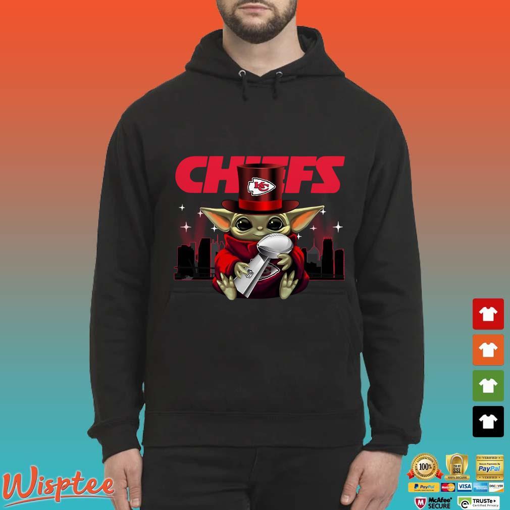 Chiefs Baby Yoda Hug Super Bowl Shirt