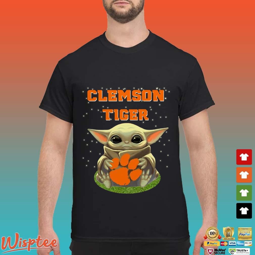 Clemson Tigers Baby Yoda Shirt
