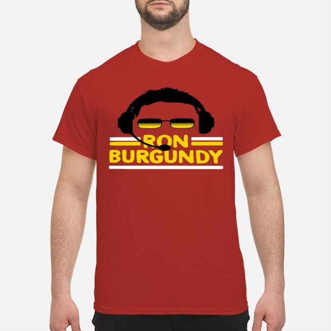 Ron Burgundy' Gold Official Shirt