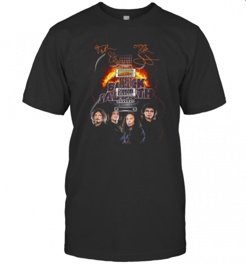 Black Sabbath Guitar Signature T-Shirt