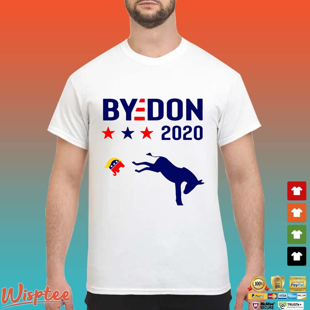 Joe Biden donkey kick elephant Trump bydon 2020 shirt