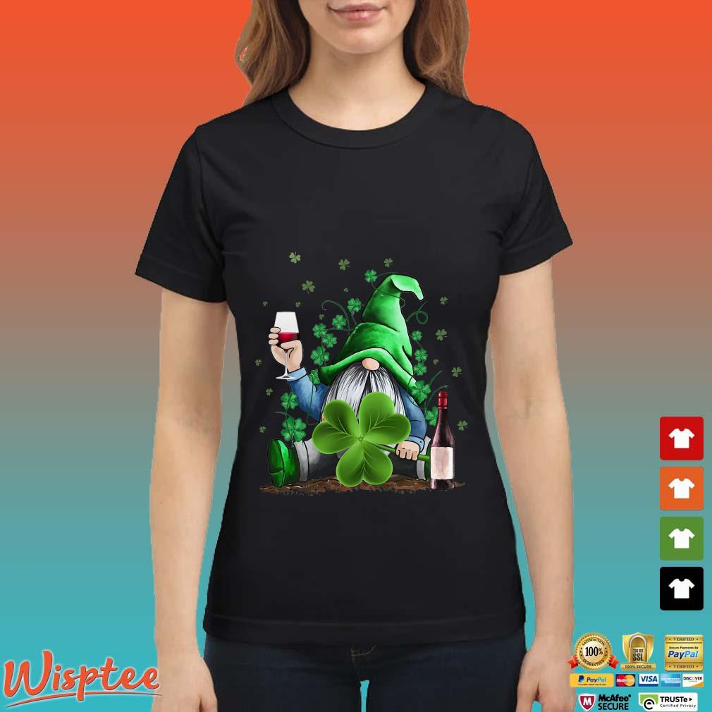 Gnomes St.Patrick's Day Drink Wine Shirt