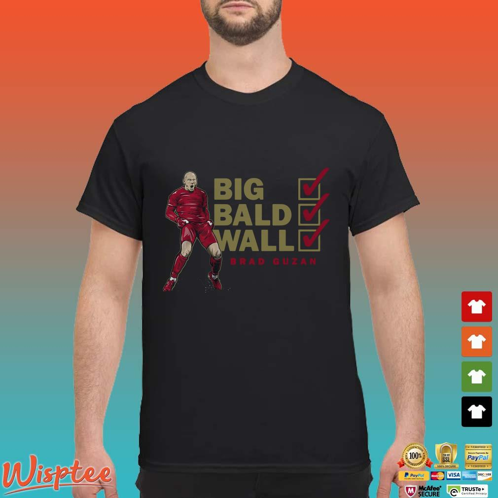 Bald Wall Brad Guzan Big Shirt