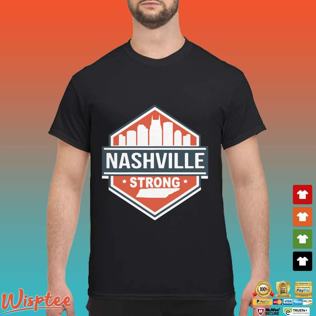 Tornado Nashville Strong I Believe In Tennessee Shirt