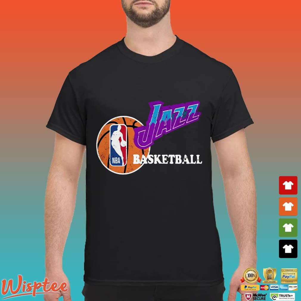 Vintage 90 Jazz Basketball NBA Shirt Utah Jazz 2020 Shirt