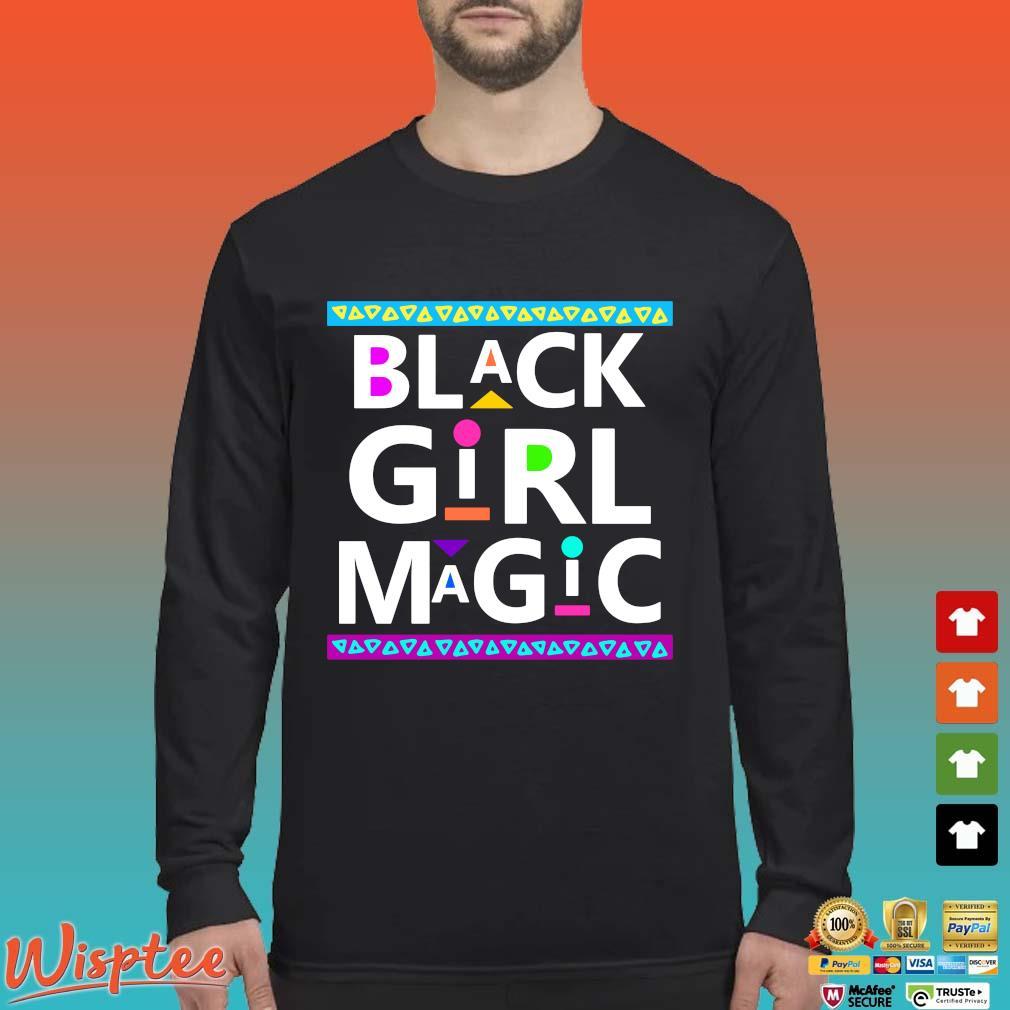 Black Girl Magic Shirt Long Sleeved den