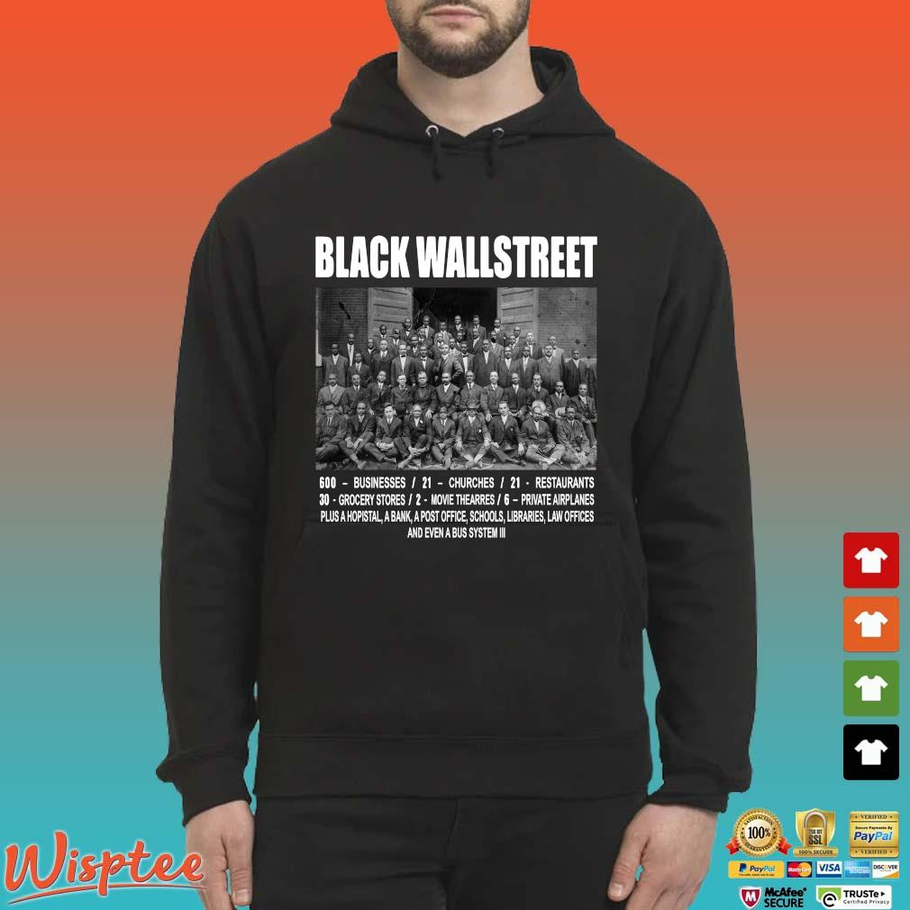 Black Wall Street Never Forget Shirts Hoodie den