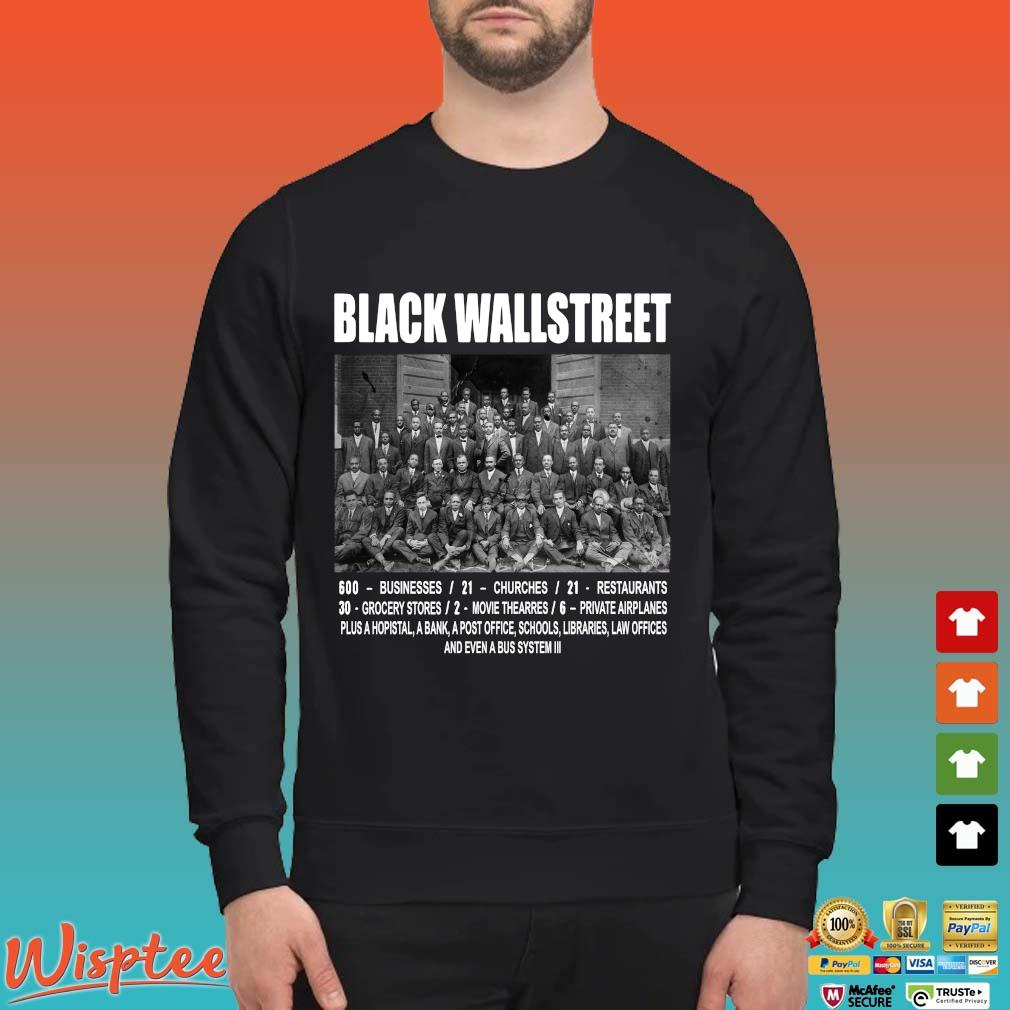 Black Wall Street Never Forget Shirts Sweater den
