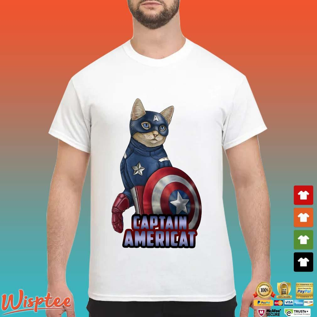 Cats Captain Americat Shirt