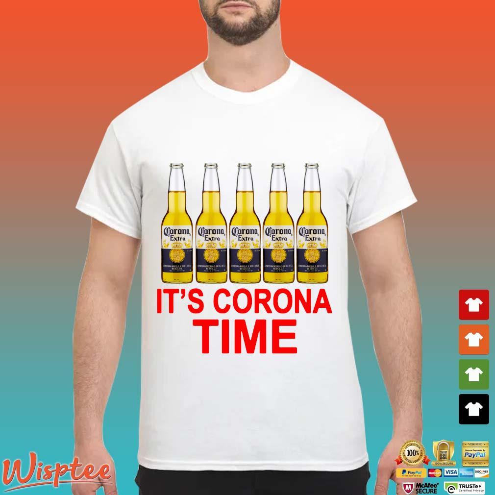 Corona Extra It's Corona Time Shirt