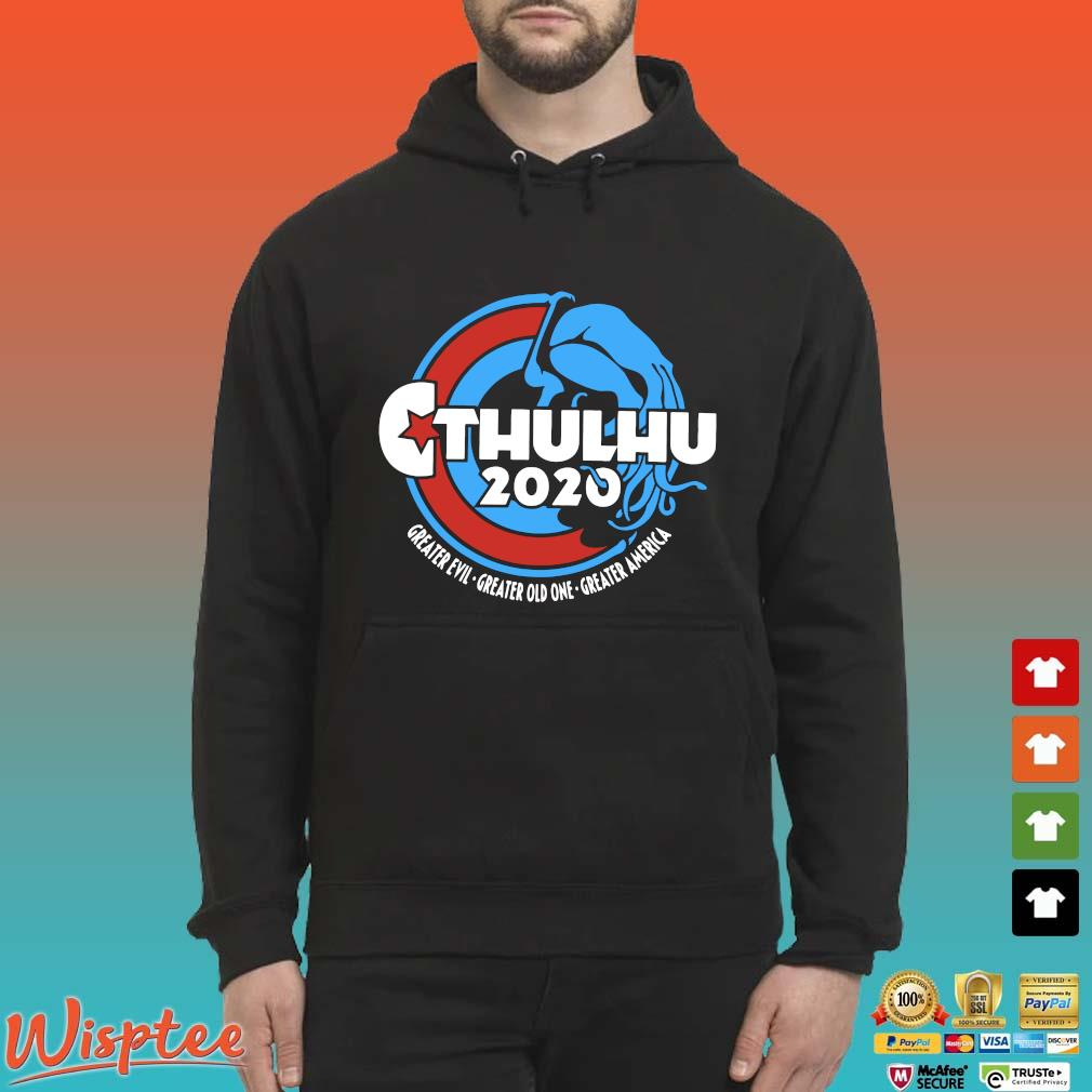 Cthulhu For President 2020 T Shirt Hoodie den