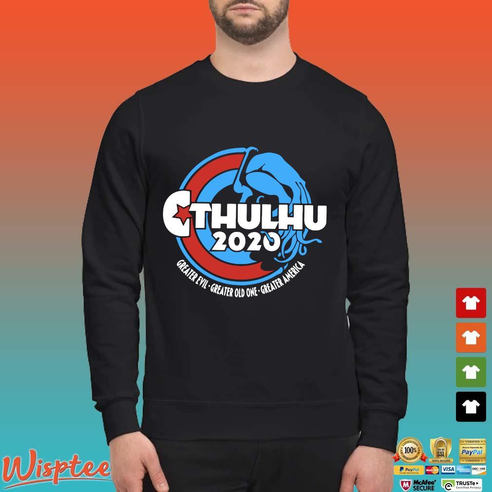Cthulhu For President 2020 T Shirt Sweater den
