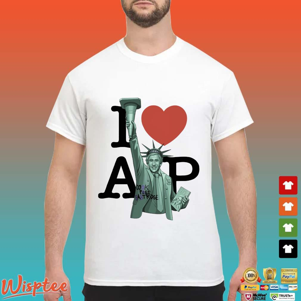I Love Ap Cook Pass Babtridge Shirt