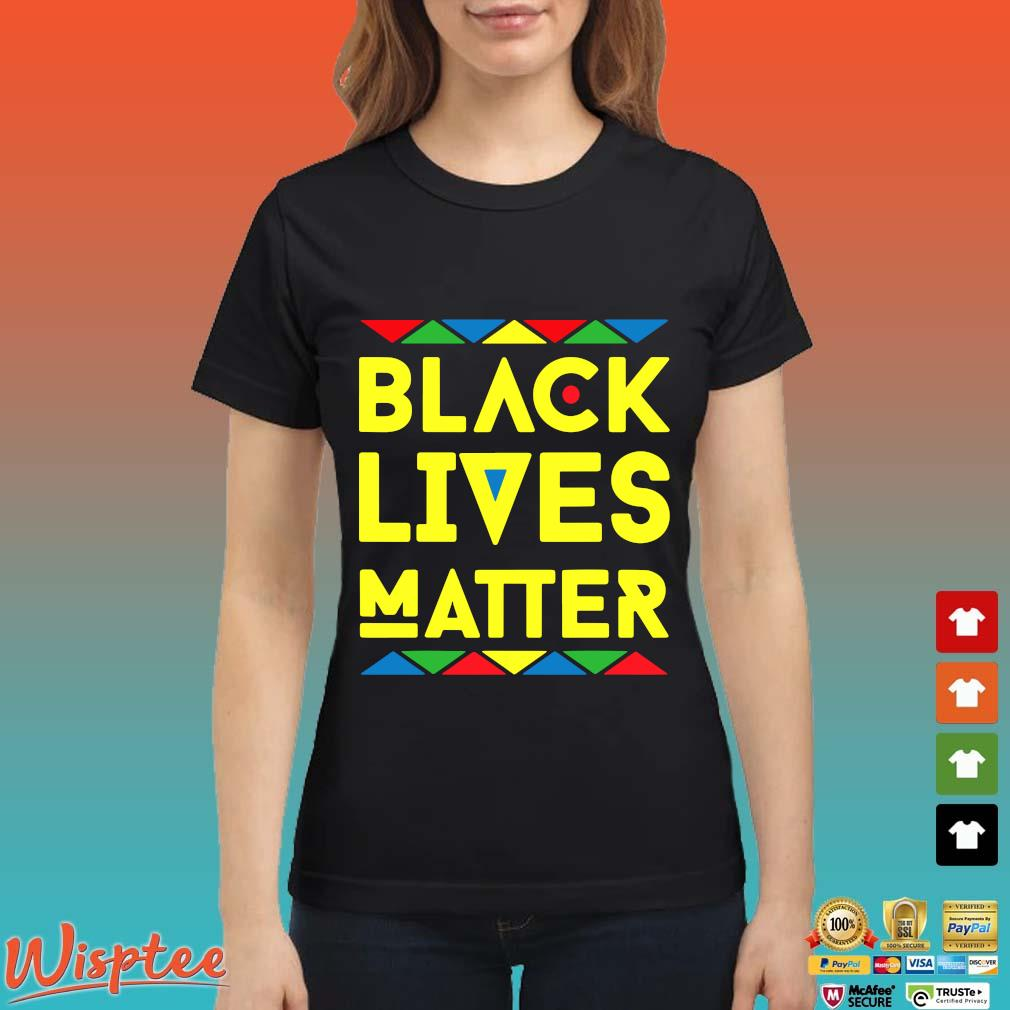 LGBT Black Lives Matter Shirt Ladies den