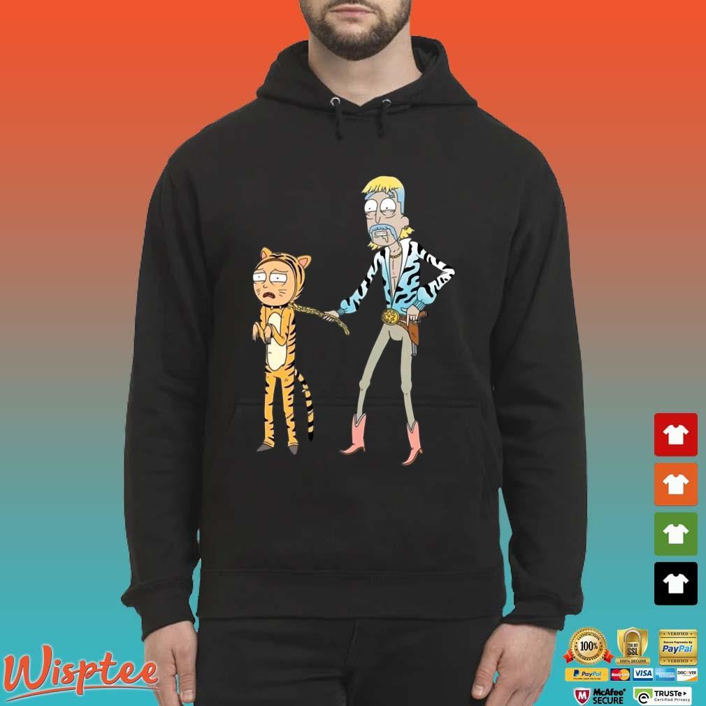Rick And Morty Joe Exotic Tiger King Tee Shirts Hoodie den