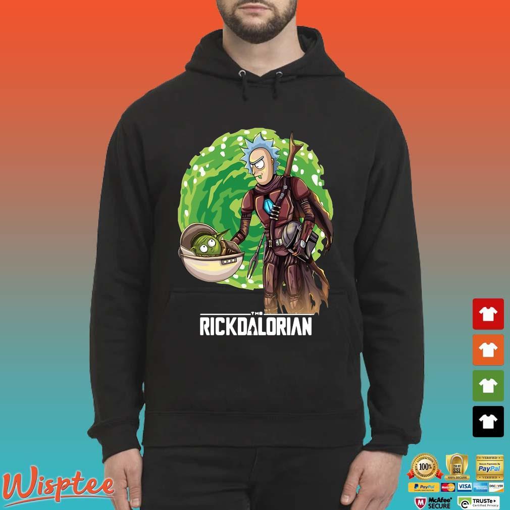 Rick And Morty The Rickdalorian Shirt Hoodie den
