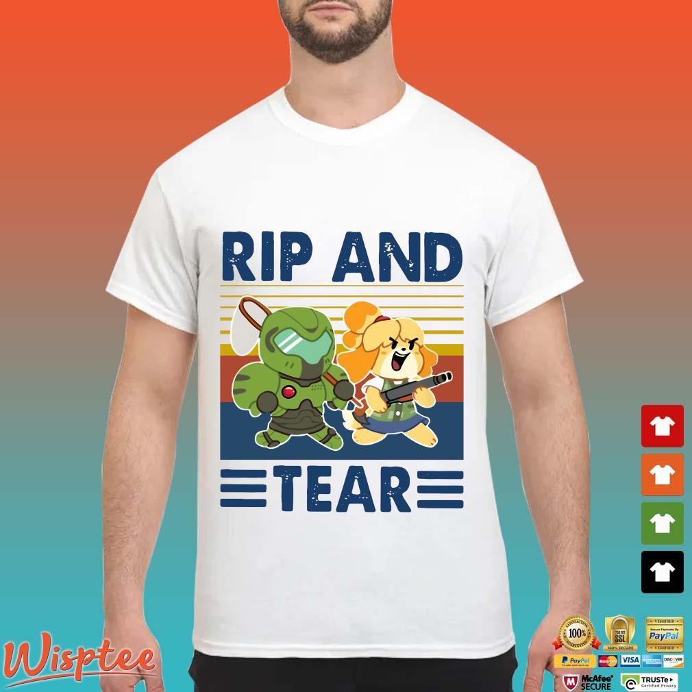 Rip And Tear Vintage Shirt