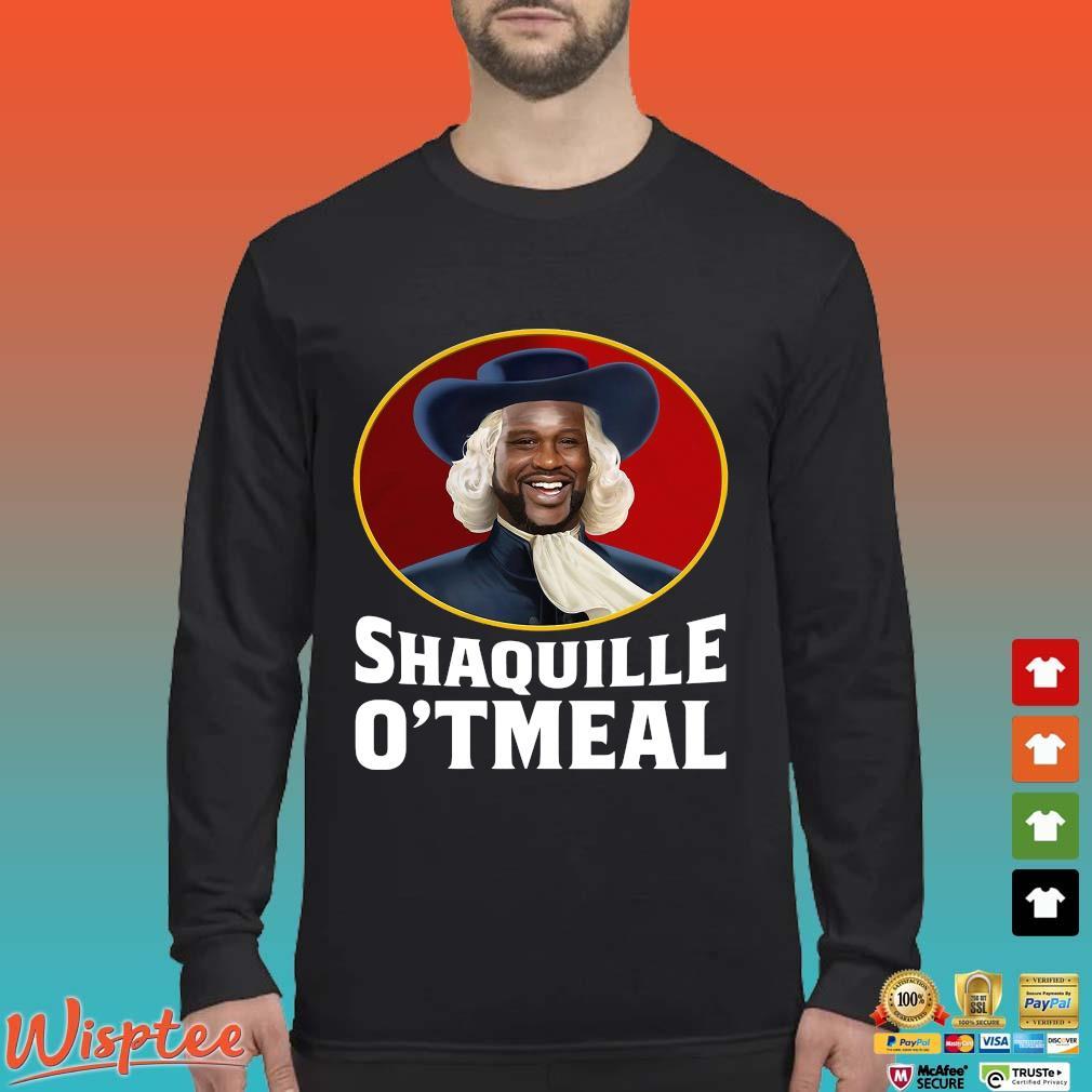 Shaquille O_tmeal Tee Shirt Long Sleeved den