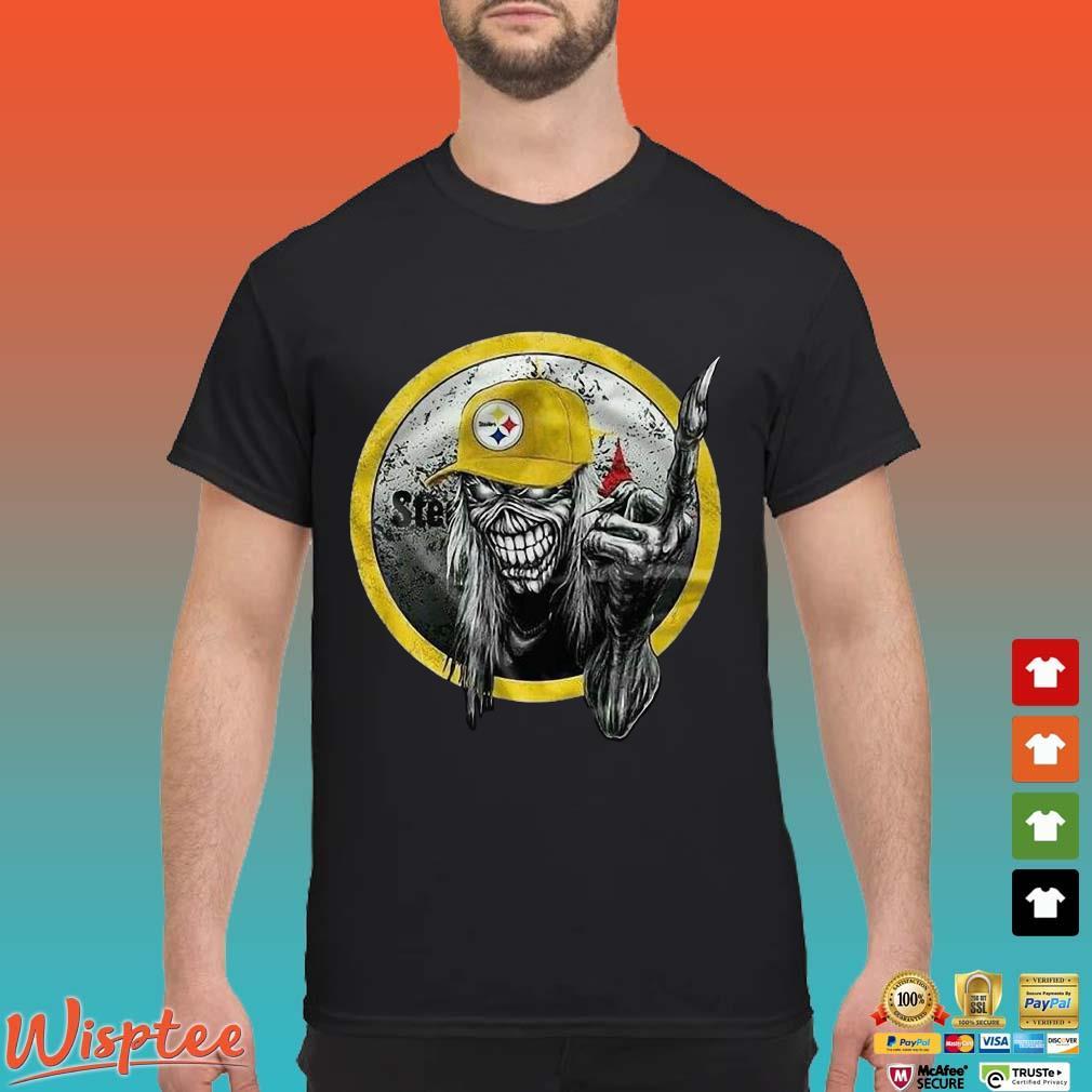 Skull Pittsburgh Steelers Shirt