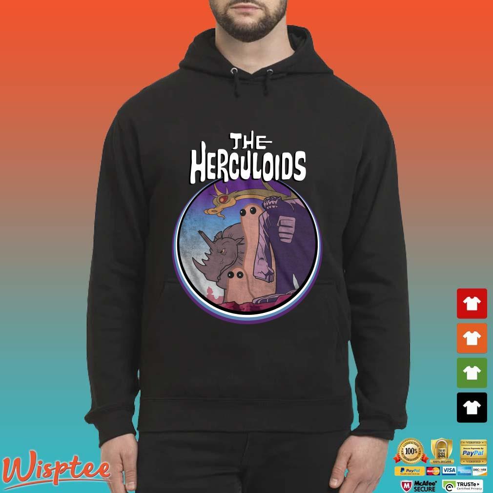 The Herculoids Tee Shirt Hoodie den
