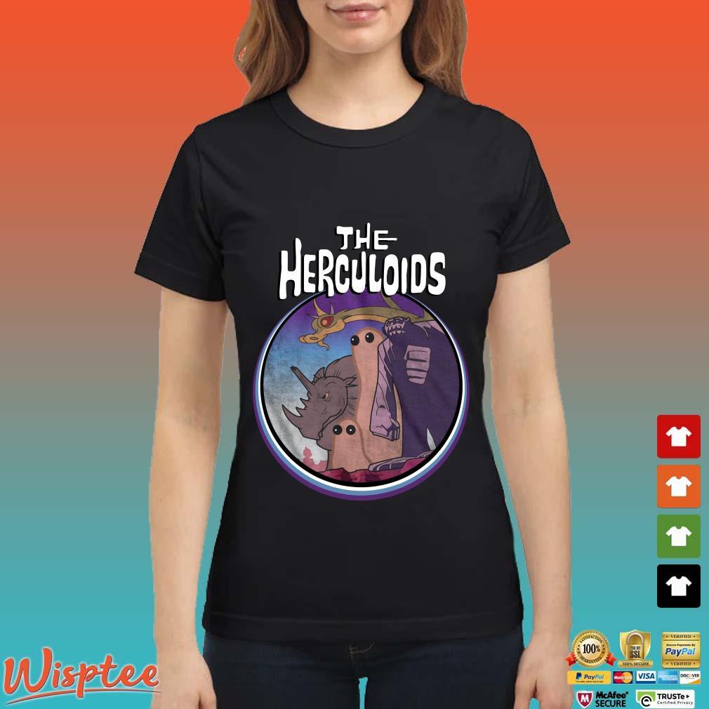 The Herculoids Tee Shirt Ladies den