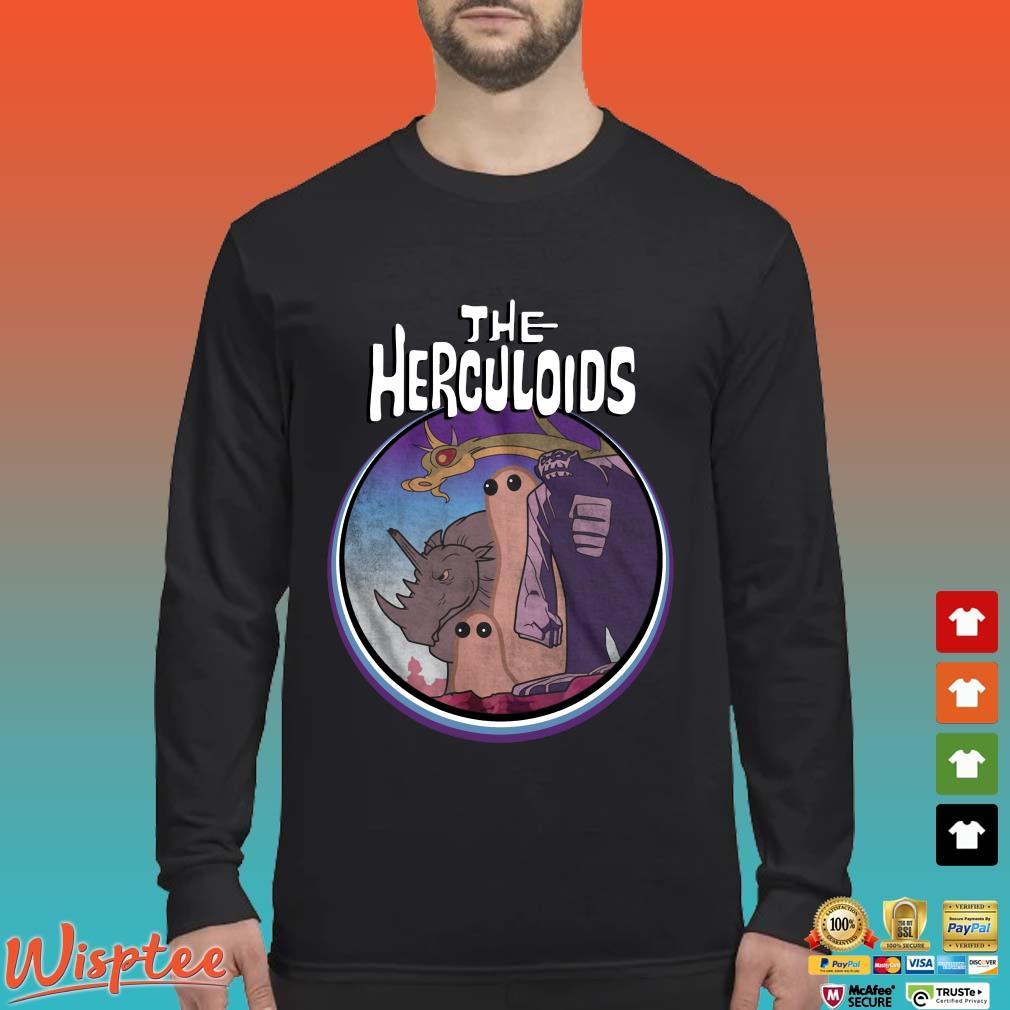The Herculoids Tee Shirt Long Sleeved den