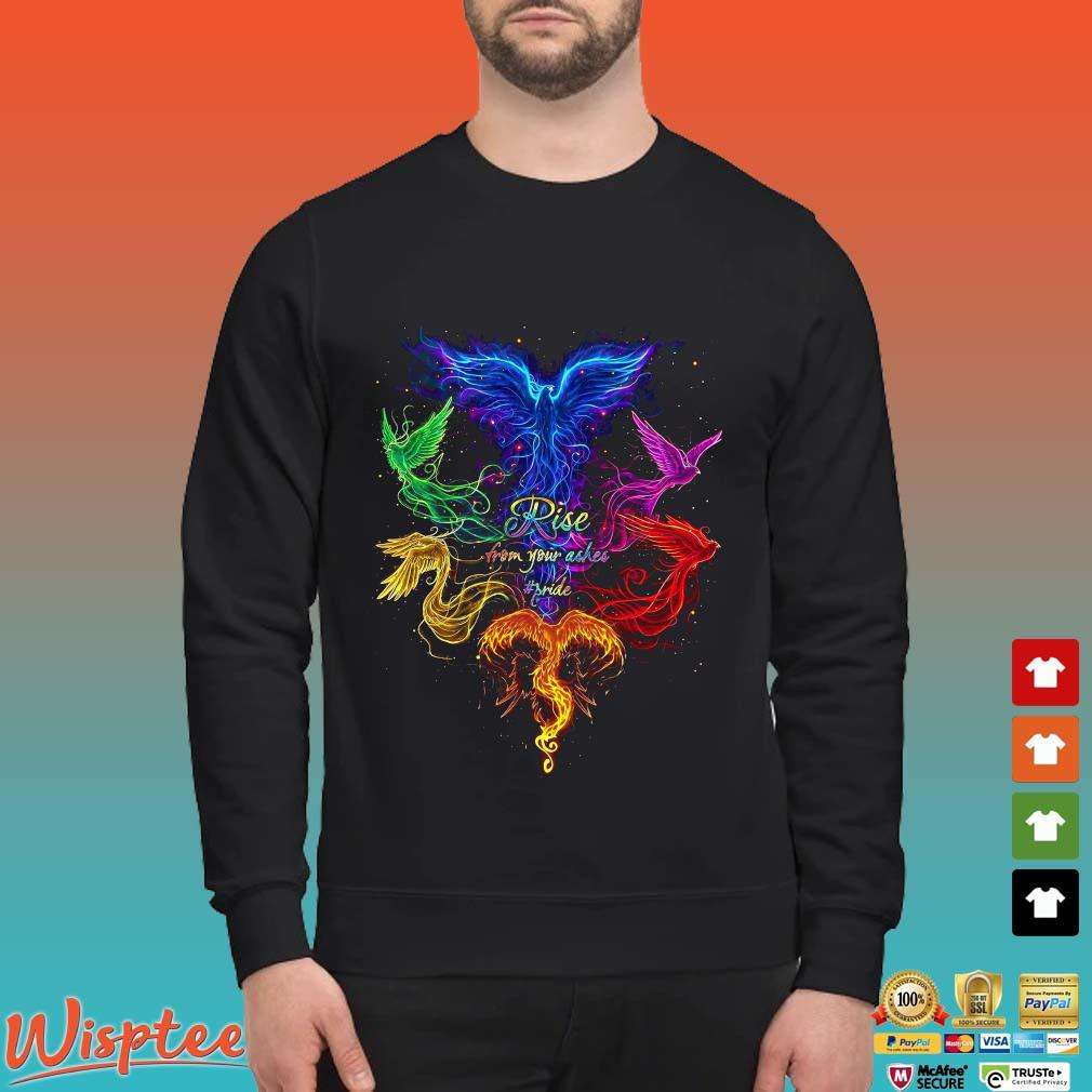 The Phoenix Rise From Your Ashes Pride Shirt Sweater den
