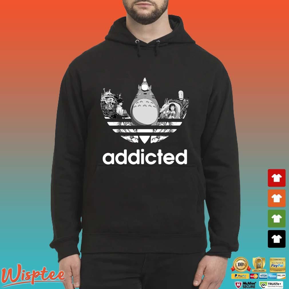 Totoro Addicted Adidas Studio Ghibli Shirt Hoodie den