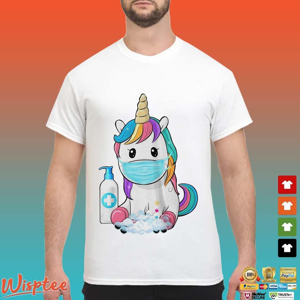 Unicorn Mask Hand Wash Shirt